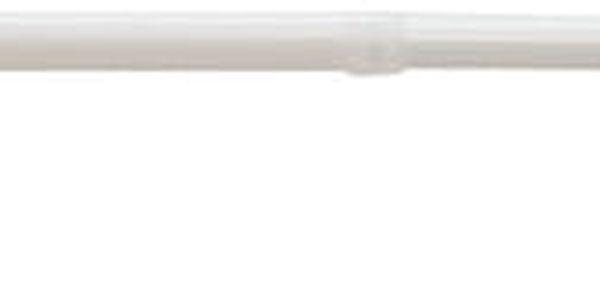 Gardinia Vitrážní tyčka vzpěrná Press & Go válec bílá, 50 - 80 cm3