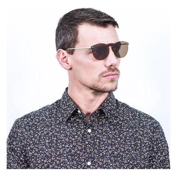 Hnědé sluneční brýle Ocean Sunglasses Berlin3