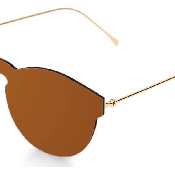 Hnědé sluneční brýle Ocean Sunglasses Berlin