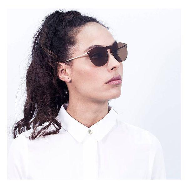 Hnědé sluneční brýle Ocean Sunglasses Berlin4