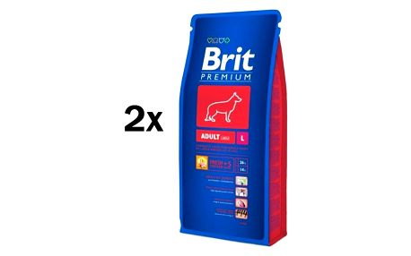 Brit Premium Dog Adult L 2 x 15 kg