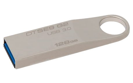 USB Flash Kingston DataTraveler SE9 G2 128GB kovový (DTSE9G2/128GB)