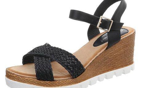 Dámské sandále na podpatku