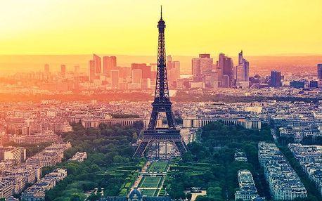 4denní zájezd pro 1 do Paříže s návštěvou mnoha muzeí