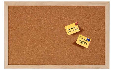 Emako Korková tabule na poznámky, 60x45 cm