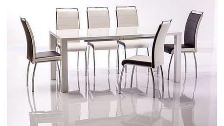 Stůl MONTEGO II 120(160)x80 cm bílý