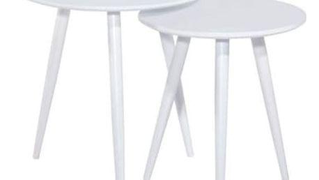 Set konferenčních stolků CLEO bílý