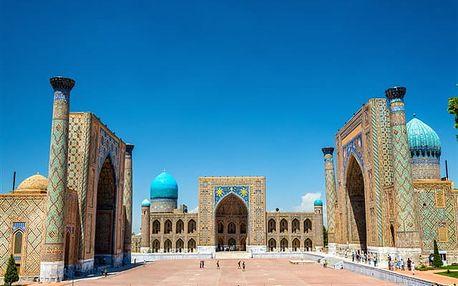 Uzbekistán De Luxe - poznávací zájezd
