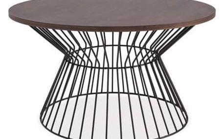 Konferenční stůl Alta ořech/černá