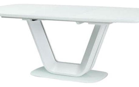 Stůl ARMANI bílý 160(220)x90 cm