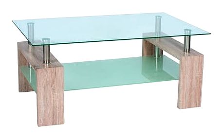 Stůl konferenční LISA II - dub sonoma