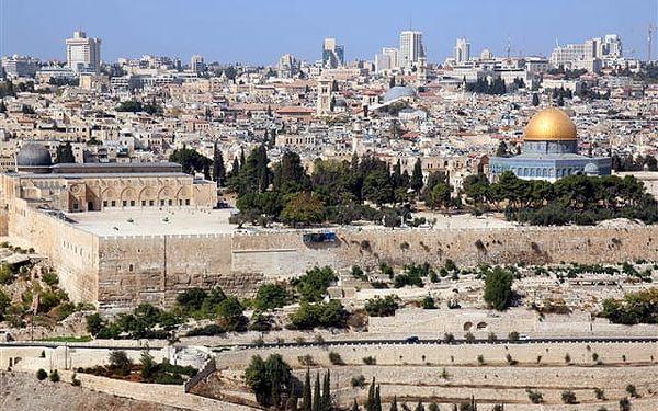 Izrael a Mrtvé moře De Luxe - poznávací zájezd