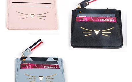 Originální mini peněženka Cat Cash