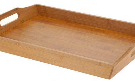 EH Excellent Houseware Snídaňový podnos z bambusu, 43x29x5 cm, EH