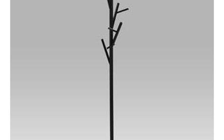 Stojací věšák 170 cm, černá