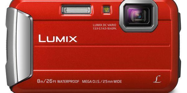 Digitální fotoaparát Panasonic Lumix DMC-FT30EP-R červený4