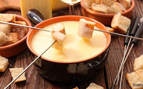 Švýcarské sýry k přípravě tradičního fondue