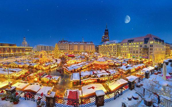 Adventní trhy v Drážďanech i Primark, Sasko, autobusem, bez stravy3