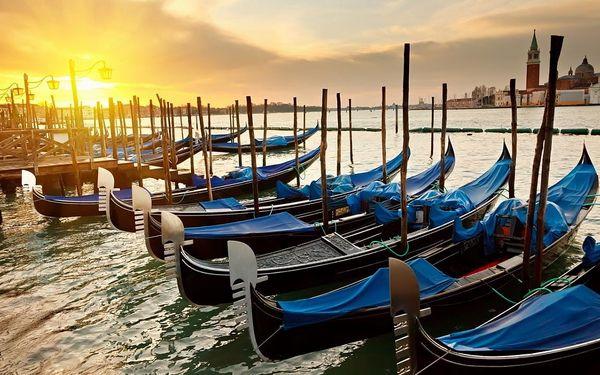 Den na pláži v Benátkách a večerní Benátky, Veneto - Benátky, autobusem, bez stravy3