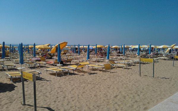 Den na pláži v Benátkách a večerní Benátky, Veneto - Benátky, autobusem, bez stravy4