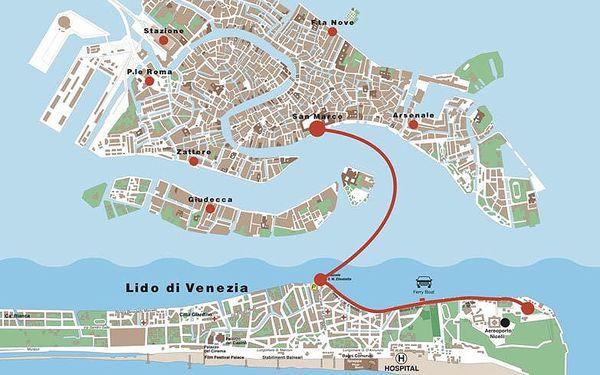 Den na pláži v Benátkách a večerní Benátky, Veneto - Benátky, autobusem, bez stravy5