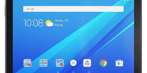 """Dotykový tablet Lenovo TAB4 10"""" Wi-Fi 32 GB (ZA2J0082CZ) černý Software F-Secure SAFE, 3 zařízení / 6 měsíců v hodnotě 979 Kč5"""
