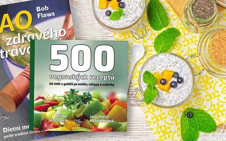 Kuchařka veganských nebo čínských receptů