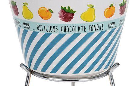 EH Excellent Houseware Keramický fondue set - pro 4 osoby