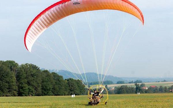 Motorový paragliding2