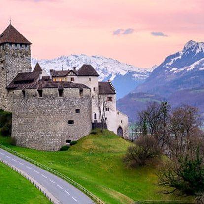 3denní zájezd pro 1 do Lichtenštejnska, Bregenzu a Lindau
