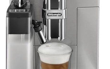 Espresso DeLonghi PrimaDonna S De Luxe ECAM28.465.M stříbrné