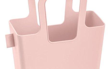 Nákupní taška, na pláži TASCHELINI - barva růžový, KOZIOL