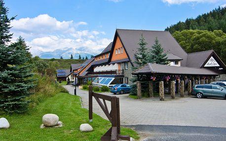 Hotel Sipox*** ve Vysokých Tatrách s wellness a polopenzí