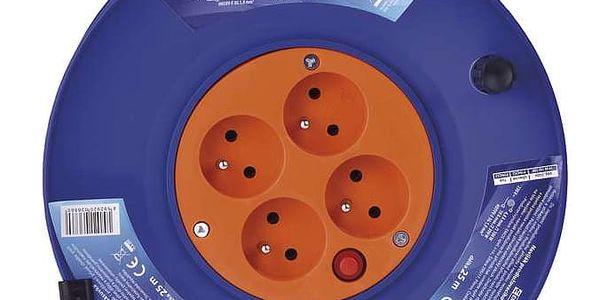 Kabel prodlužovací na bubnu EMOS 4x zásuvka, 25m (1908142500)4