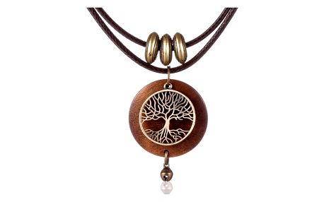 Dvojitý náhrdelník se stromem života