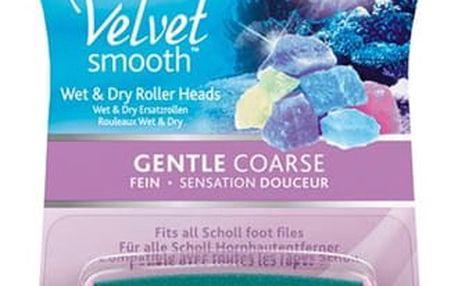 Náhradní hlavice do elektrického pilníku Scholl Velvet Smooth jemně drsná s mořskými minerály 2ks