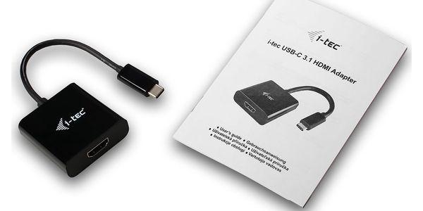 Redukce i-tec HDMI / USB-C (C31HDMI)2
