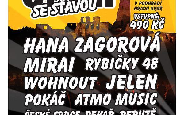 Vstupenka na 20. ročník open-air festivalu v romantickém podhradí Okoře4