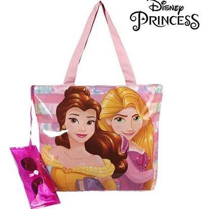 Plážová taška a sluneční brýle Princesses Disney 381