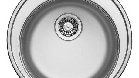 Sinks FAVORITE 490 V 0,6mm matný