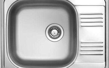 Sinks GRAND 652 V 0,8mm leštěný