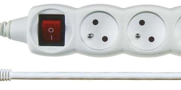 Emos prodlužovací kabel s vypínačem 3 zásuvky 2m