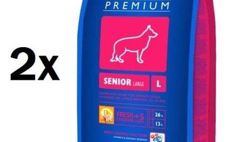 Brit Premium Dog Senior L 2 x 15 kg