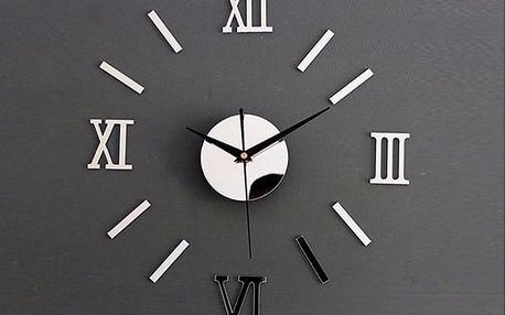 Zrcadlové hodiny 40 x 40 cm