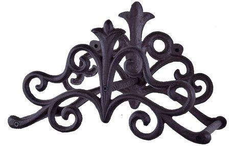 Černý litinový závěsný držák na hadici Ego Dekor