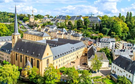 Německo a Lucembursko: 3 noci včetně snídaně