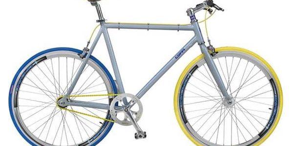 Coppi Scatto Fisso modré/žluté