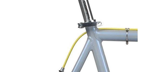 Městké kolo Coppi Scatto Fisso modré/žluté + Taška Dunlop Retro street v hodnotě 399 Kč + Doprava zdarma5