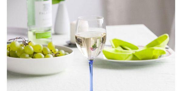 6dílná sada sklenic na víno Blue, 330 ml2