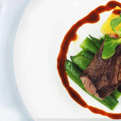 Degustační menu s roastbeefem a steakem